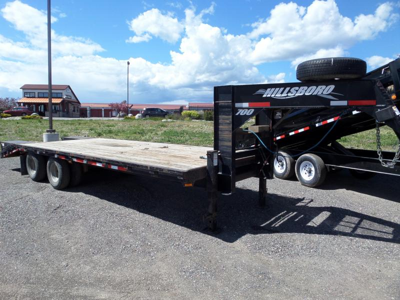 2006 Hillsboro Industries 725-TD-BT Flatbed Trailer