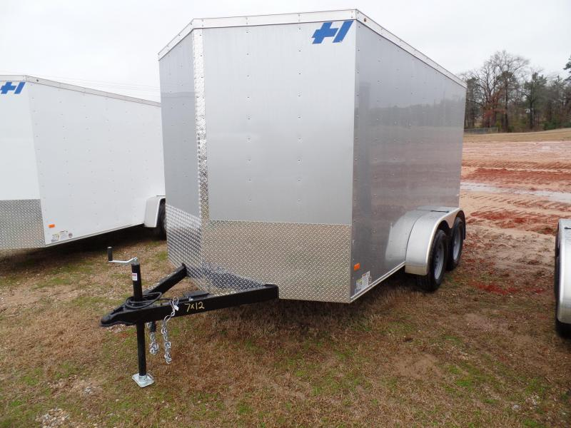 2016 Haulmark THRIFTY HAULER 7 12 Enclosed Cargo Trailer