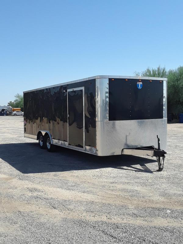 2013 INTERSTATE CARGO ENCLOSED TRAILER 24'X8'