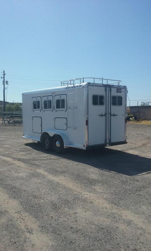 1993 Featherlite 3 Horse BP 9550 W/ Mangers