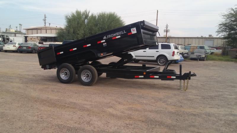 """2017 Iron Bull 83""""X14' 14K Dump Trailer"""