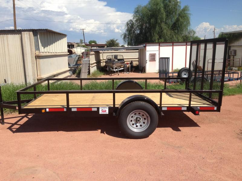 2016 Imperial imperial trailer 6x12 utility with ramp