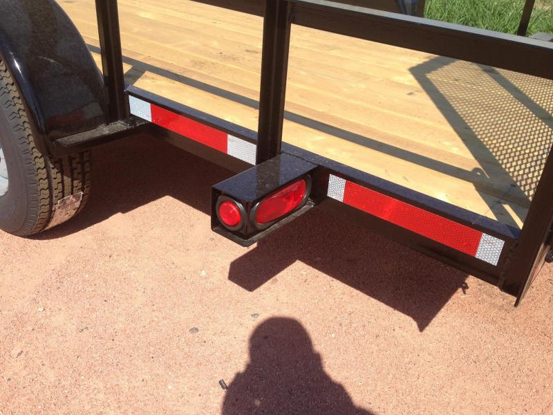 2016 Other IMPERIAL TRAILER 6X12 UTILITY WITH RAMP Utility Trailer