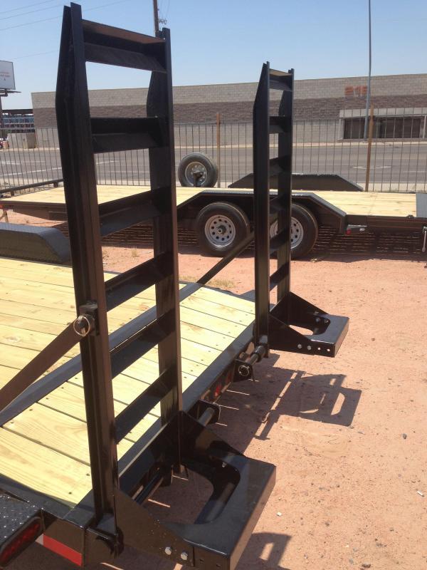 2016 Norstar ironbull 83x22 equipment trailer