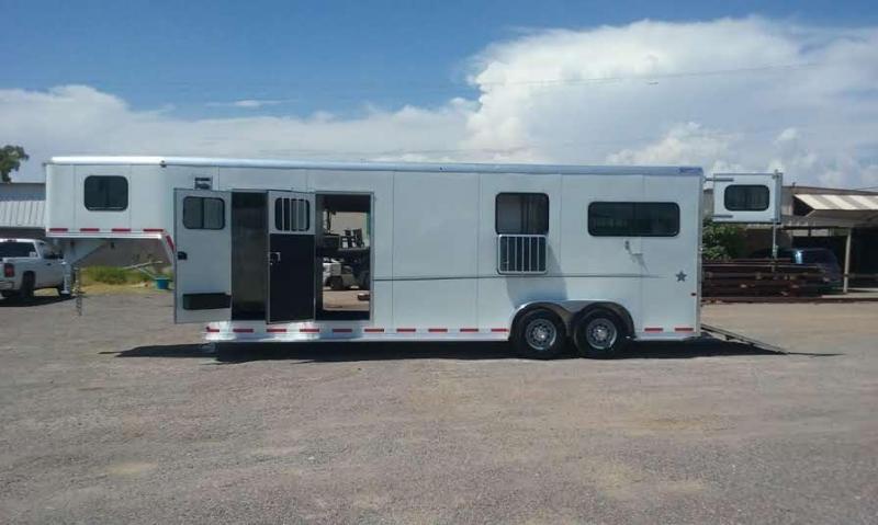 2017 FRONTIER 2+1 GN WARMBLOOD HORSE TRAILER