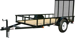 CARRY-ON 5X8 GW flatbed utility trailer