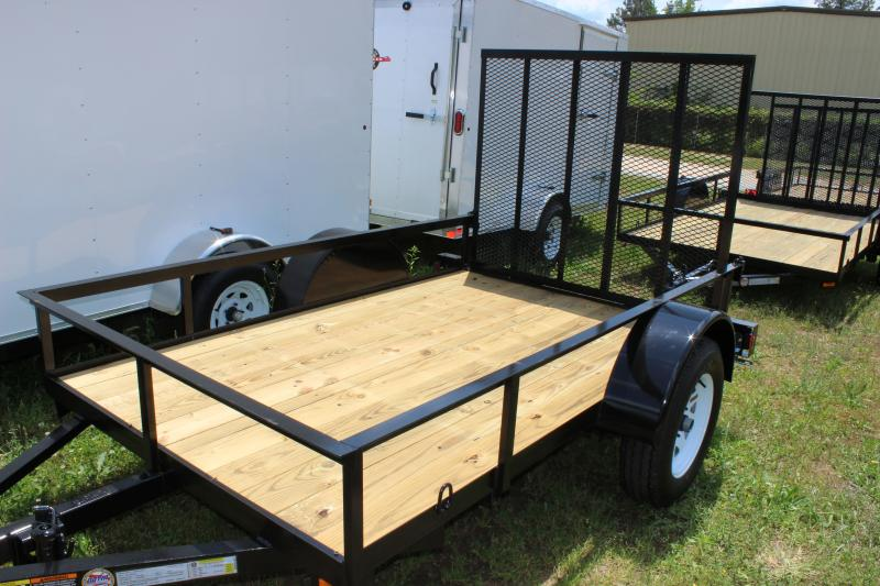 2016 Other Horton 5x8 Landscaping Trailer with Wood Flooring Utility Trailer