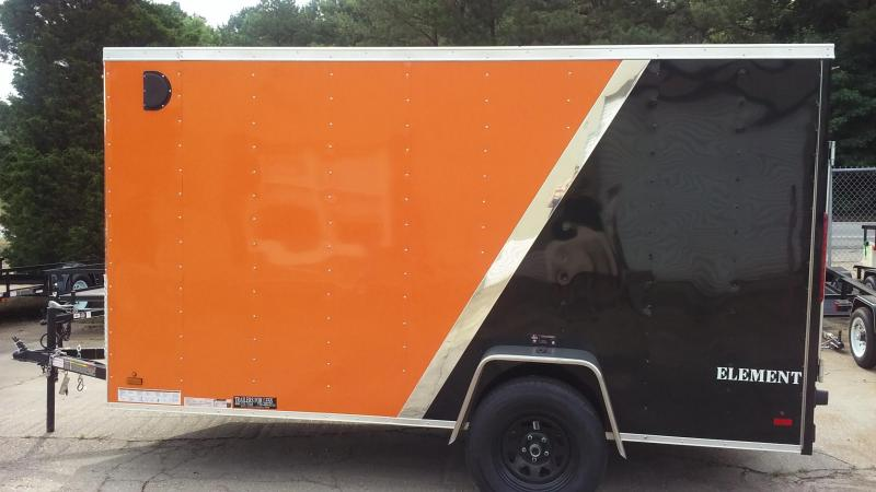 2016 Look Trailers EWLC6X12SI2 Flat Top Enclosed Cargo Trailer