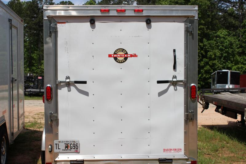 CARRY-ON 6X12 CGREV-FLAT enclosed cargo trailer