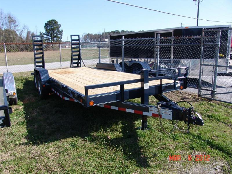 2016 Load Trail 20 Ft Load Trail Equipment Trailer #37405 Car / Racing Trailer