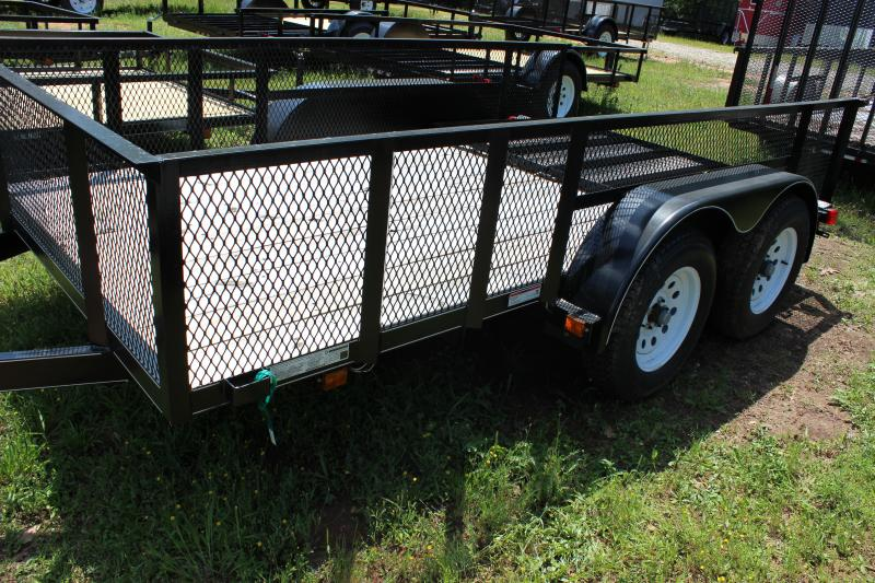 CARRY-ON 6X12 GWHS utility trailer with high sides