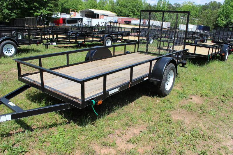 2016 Carry-On Carry-On 6x14 Landscaping Trailer Utility Trailer