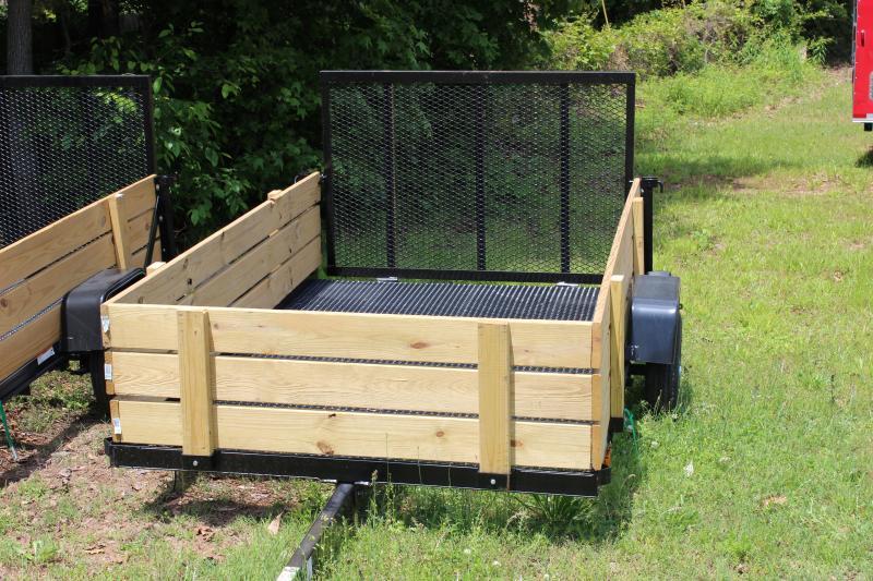 2016 Carry-On Carry-On  5x8 Landscaping Trailer with Woodsides Utility Trailer