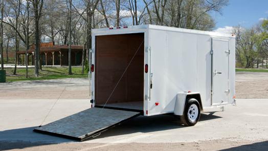 HAULMARK PPT 6X10 D2S enclosed cargo trailer