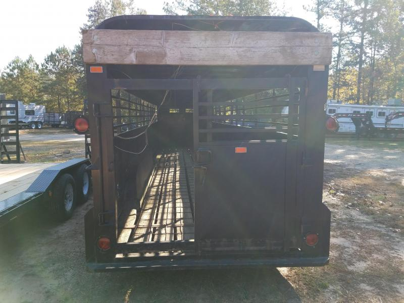 1976 Other used livestock trailer Livestock Trailer