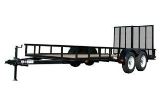 CARRY-ON 6X18 GW flatbed utility trailer