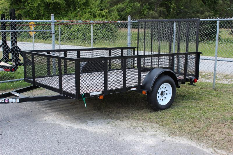 CARRY-ON 6X10 GWHS flatbed utility trailer with high sides