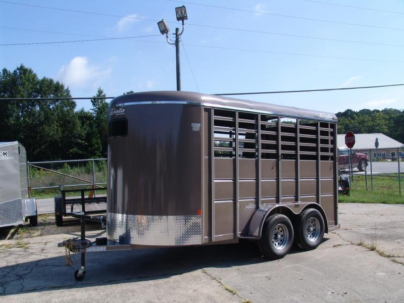 2018 Delta Manufacturing 500 combo series Horse Trailer