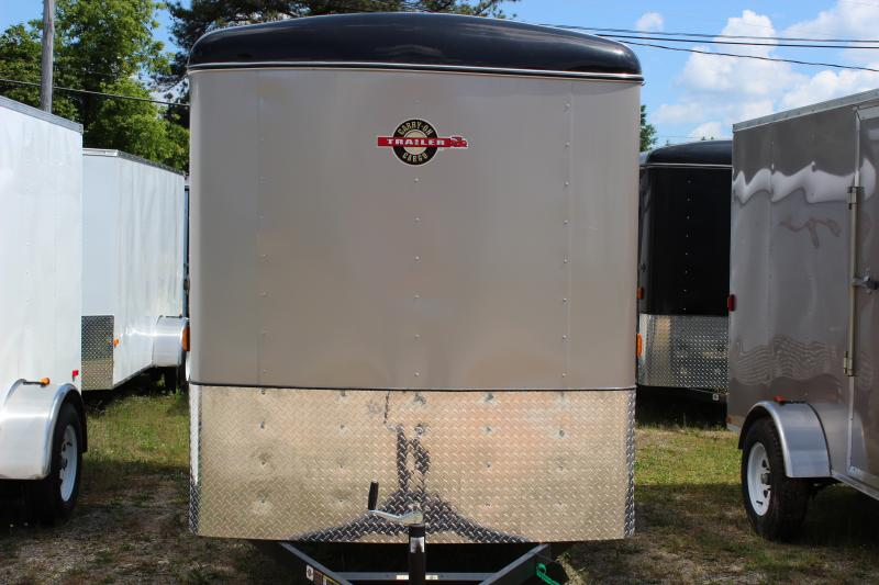 Charcoal CARRY-ON 6X12 CGR enclosed cargo trailer