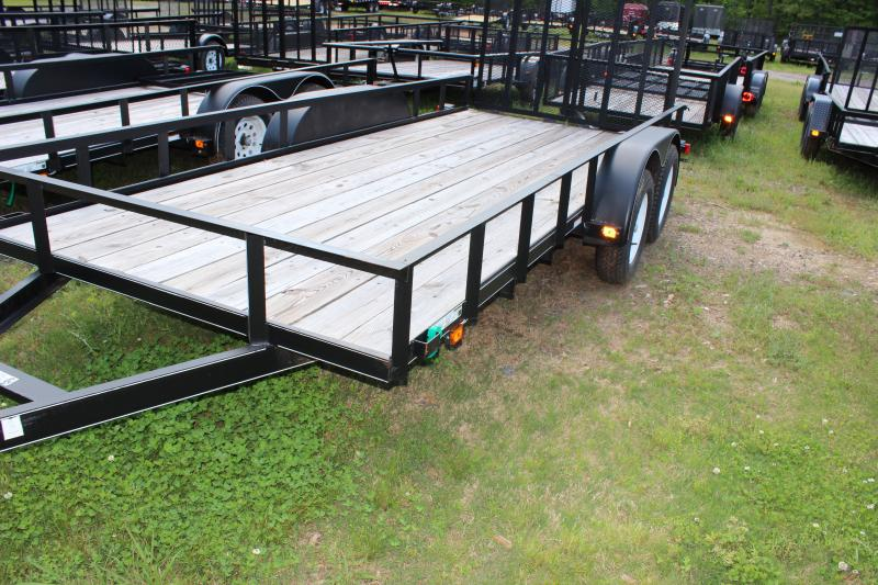 CARRY-ON 6X16 GW2BRK flatbed utility trailer