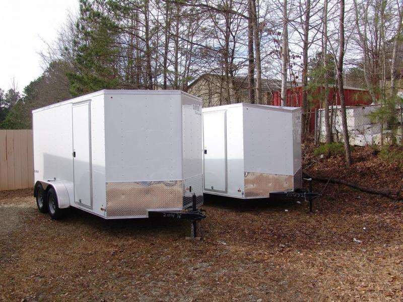 2017 Look Trailers 7X14 element Enclosed Cargo Trailer