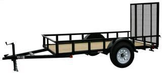 CARRY-ON 6X8 GW13 flatbed utility trailer