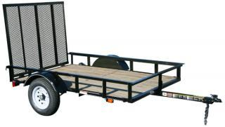 CARRY-ON Z 5X8 SPW flatbed utility trailer
