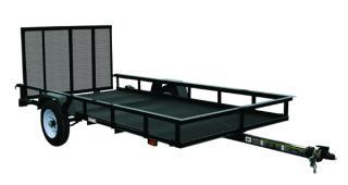 CARRY-ON 5X10 G flatbed utility trailer