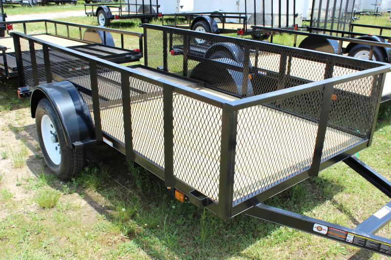 2016 Other Carry-On 5x10 Landscaping Trailer with Metal Mesh Sides Utility Trailer