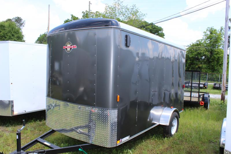 Beige CARRY-ON 6X12 CGR  enclosed cargo trailer