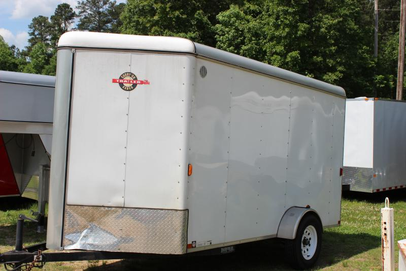 CARRY-ON 6X12 CGRV-OPT enclosed trailer with sidewall vents