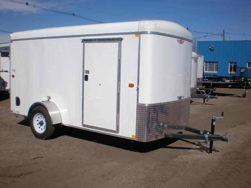 2017 HampH 6x12 Enclosed Cargo Trailer We Are The