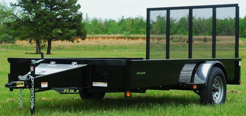"""2017 Rice """"Stealth"""" 76x12 Utility Trailer"""