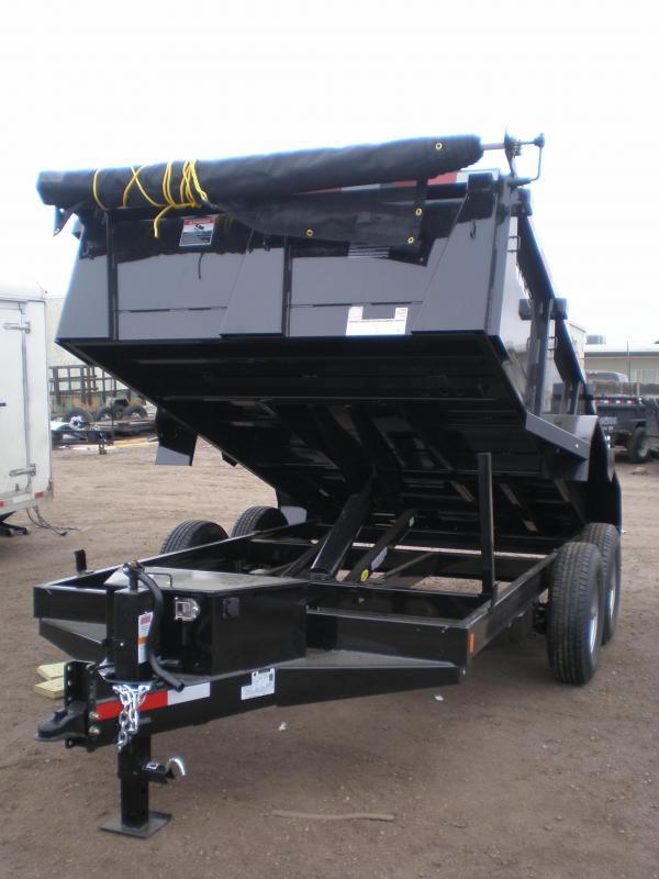 2017 Rice 82x12 HD Dump Trailer
