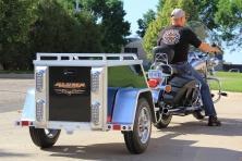 2015 Aluma MCT Motorcycle Trailer