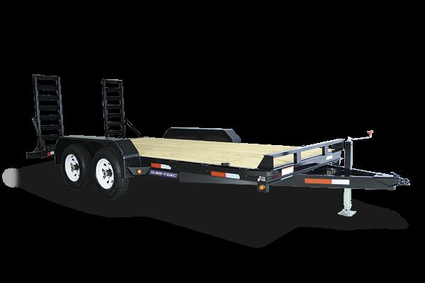 2018 Sure-Trac 81 X 20 14K Implement Equipment Trailer