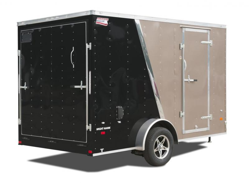 2017 American Hauler Industries NH612SA Enclosed Cargo Trailer