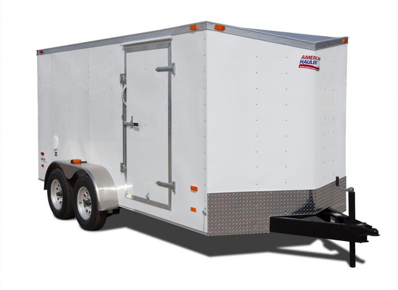 2017 American Hauler Industries AR714TA2 Enclosed Trailer