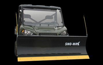 2017 Sno-Way UTV STRAIGHT Snow Plow