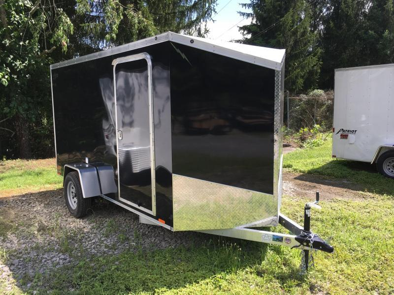 2018 Forest River Inc 6x12 Lightning Aluminum Enclosed Cargo Trailer