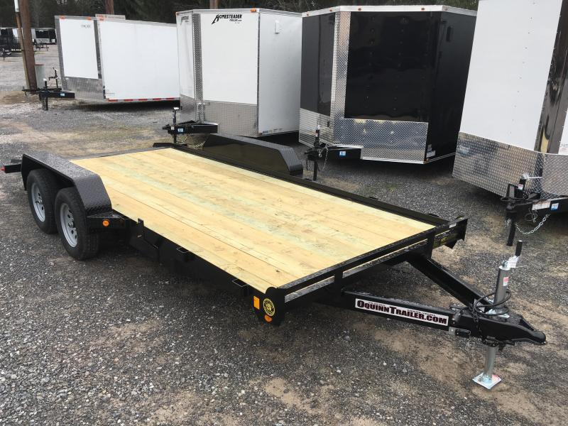 2017 Gatormade Trailers 18ft dovetail wood car hauler Car / Racing Trailer