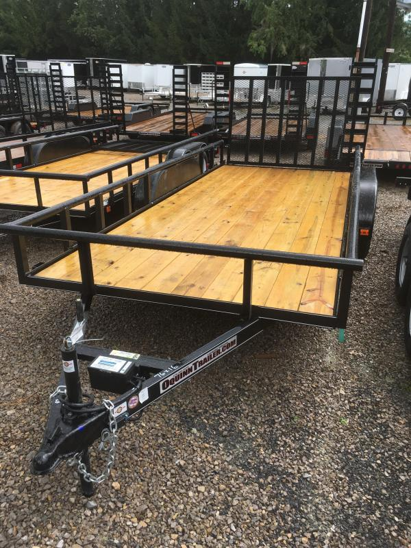 2017 Carry-On 76X16 Pipe Top Utility Trailer