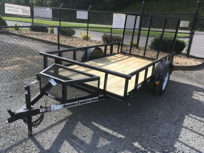 2017 Carry-On 5.5x10 pipe top single axle with mesh toolbox Utility Trailer