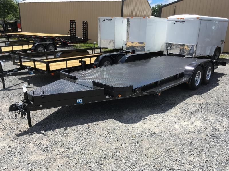 2017 Other (Not Listed) 20ft deluxe car hauler 7k Car / Racing Trailer