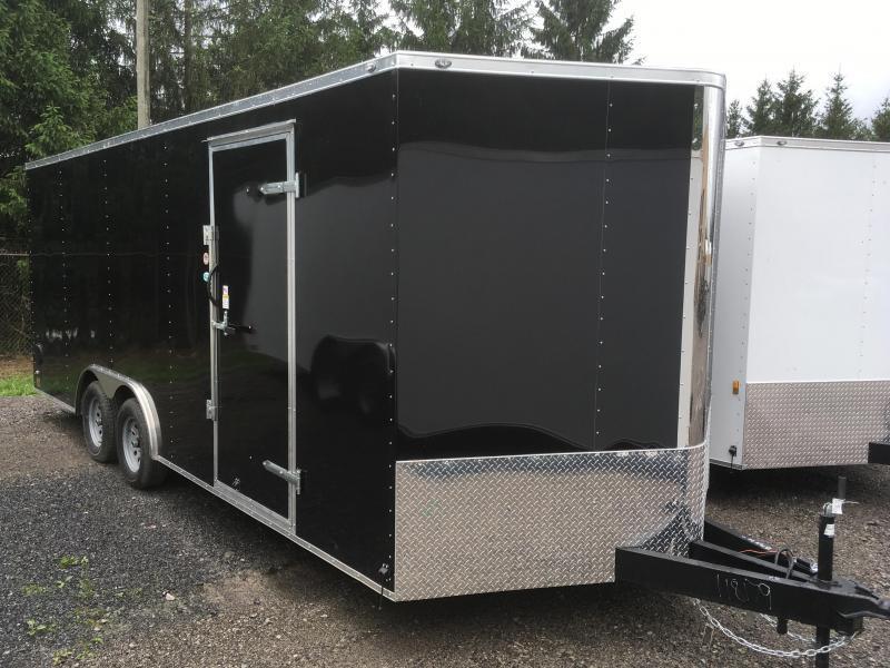 2018 Continental Cargo 8.5x20 5ton car hauler Enclosed Cargo Trailer