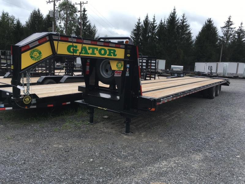 2016 Gatormade Trailers 40ft Gooseneck Equipment Trailer