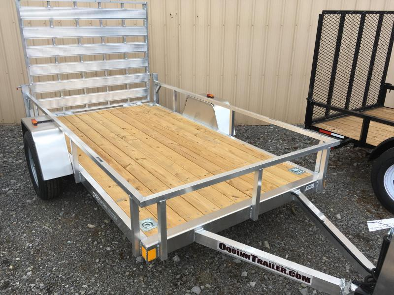 2018 forest river inc aluminum utility trailer o for 5x10 wood floor trailer