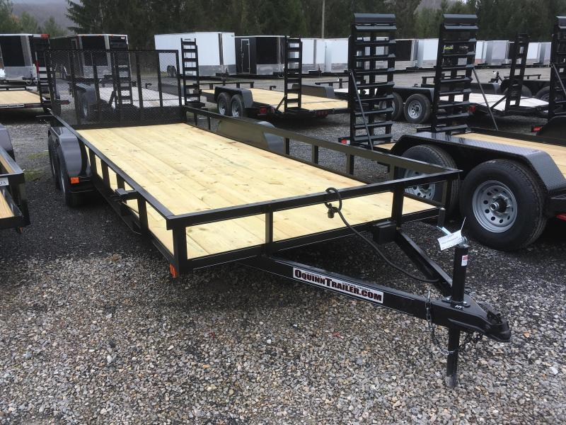 2017 Other 82x20 utility with gate and brake Utility Trailer