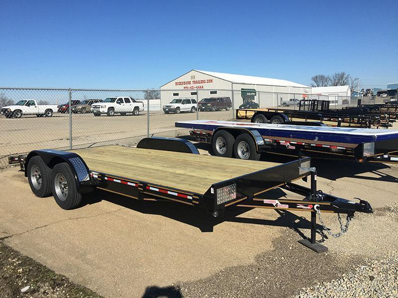 Heartland Super Duty Flatbed Trailer 18 X 82