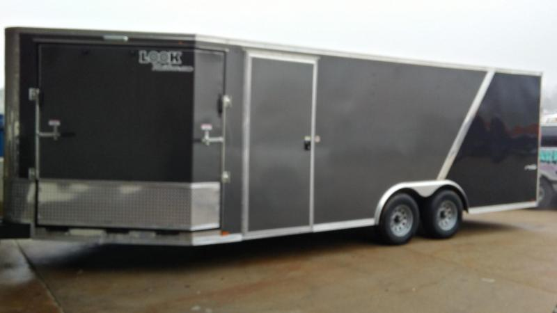 2017 Lark 25 X 7.5 Enclosed Cargo Trailer